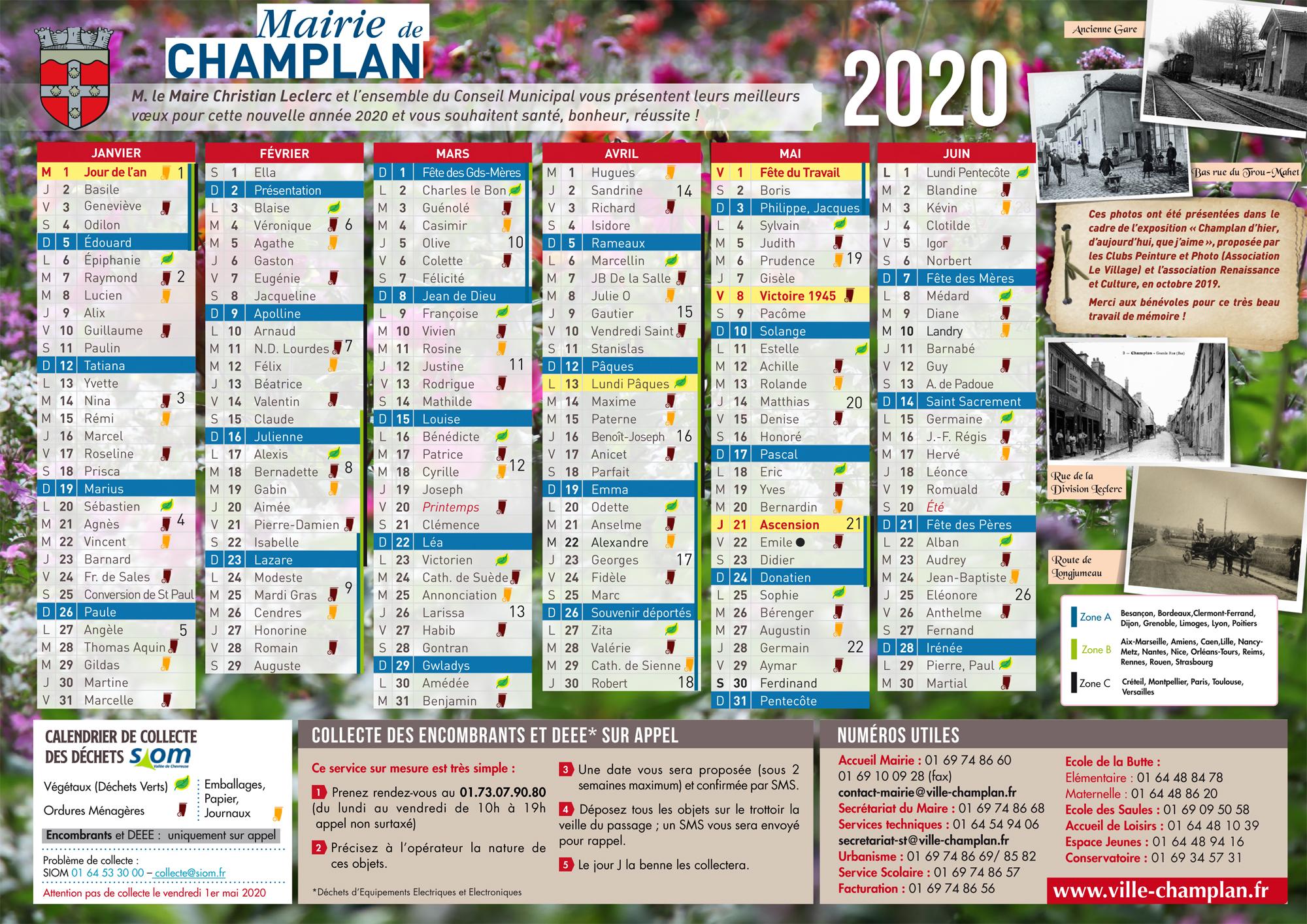 Collecte SIOM   Ville de Champlan