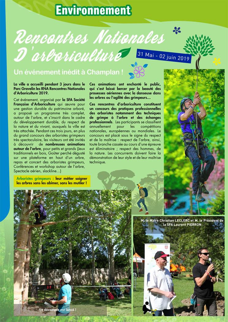 rencontre nationale d arboriculture 2021)